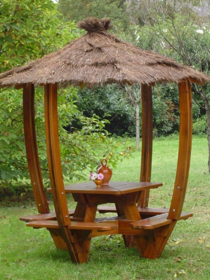 Galerie de Photos - Abritable tables de jardin
